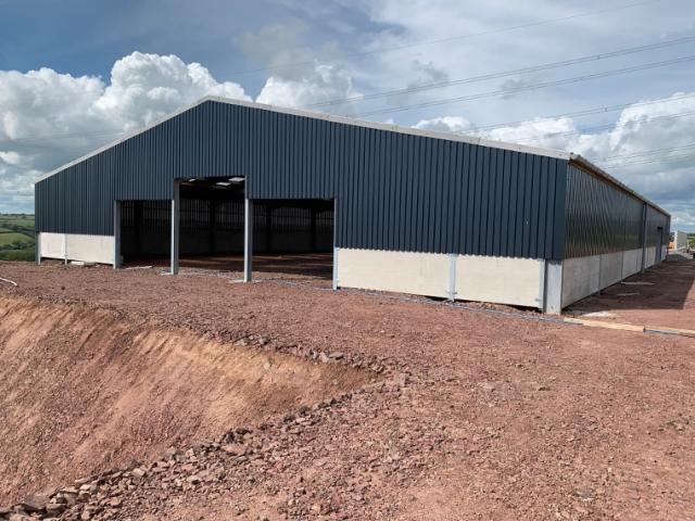 Pontyates Dairy Building