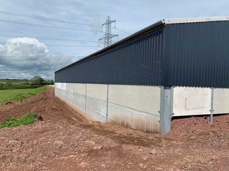 Pontyates Dairy Building Side Elevation