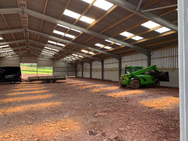 Pontyates Dairy Building Interior