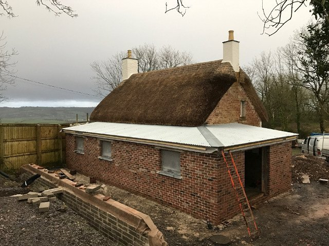 conservation project extension roof