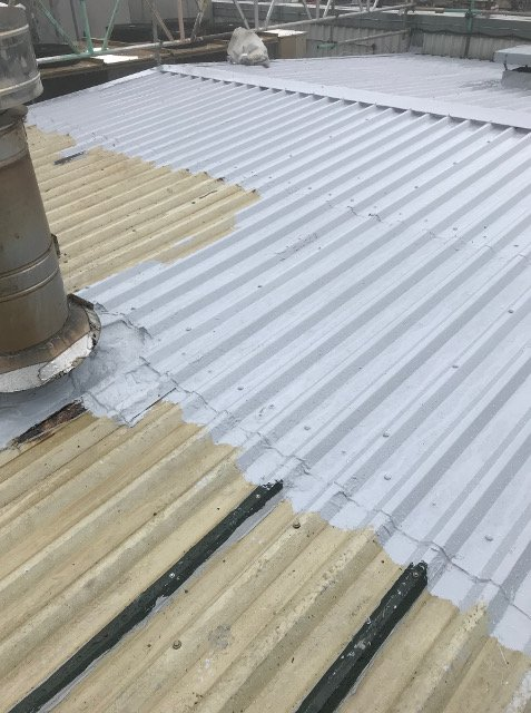 Liquid roofing