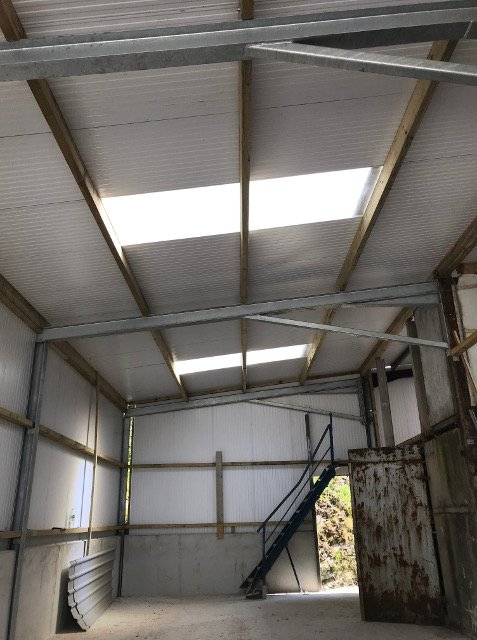 Insulated cladding