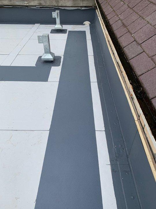 Yr Hen Ysgol single ply roof