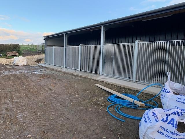 dog kennel exterior bays