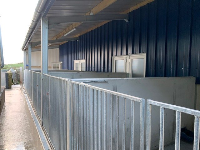 kennel lean-to bays